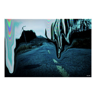 """The Road Poster X-Large (38"""" x  25.4"""")"""