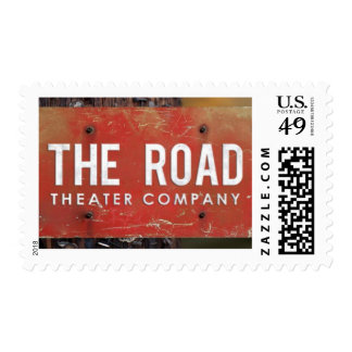 The Road Theater Company Postage Stamp