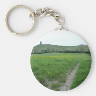 The Road to Avalon Basic Round Button Keychain