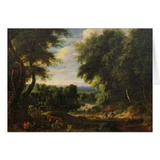 The Road to Boitsfort from Auderghem Card