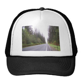The Road to Forks, WA Mesh Hat