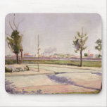 The Road to Gennevilliers, 1883 Mouse Pad
