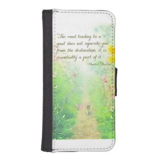 The Road to Goals iPhone SE/5/5s Wallet Case