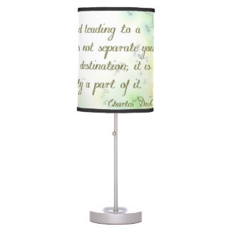 The Road to Goals Table Lamp