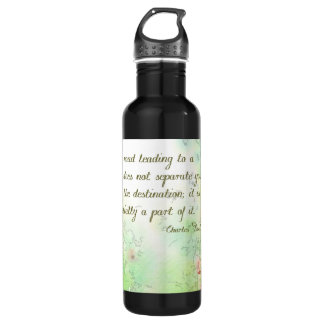 The Road to Goals Water Bottle