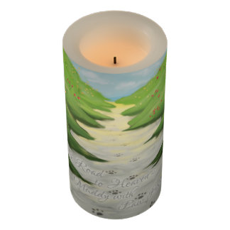 The Road To Heaven... pet sympathy candle