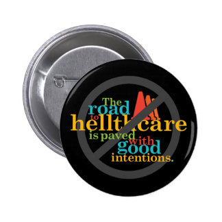 The Road to Hellthcare... Pin