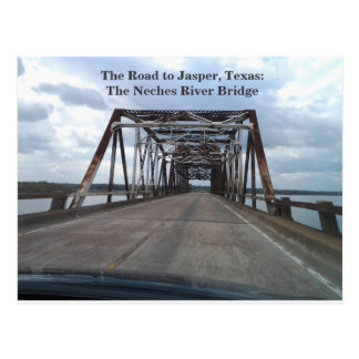 The Road to Jasper, Texas Postcard