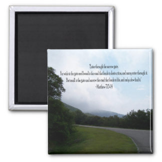 The Road to Life 2 Inch Square Magnet