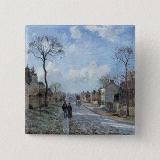 The Road to Louveciennes, 1872 Button