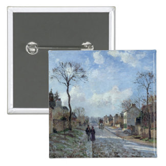 The Road to Louveciennes, 1872 Pinback Button