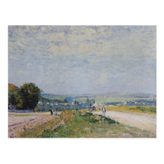 The Road to Montbuisson at Louveciennes, 1875 Postcard