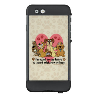 The Road To My Heart Dog Lover LifeProof® NÜÜD® iPhone 6 Case