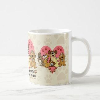 The Road To My Heart Dogs Coffee Mug
