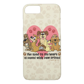 The Road To My Heart Dogs iPhone 8/7 Case