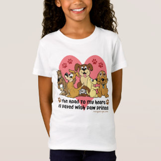 The Road To My Heart Dogs T-Shirt