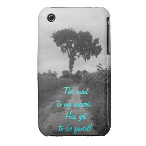 The Road To My Success iPhone 3 Case