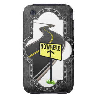 THE ROAD TO NOWHERE iPhone 3 TOUGH COVER
