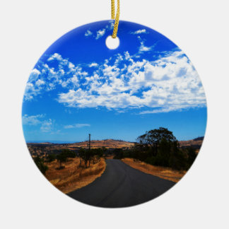 The Road To Nowhere Ornaments