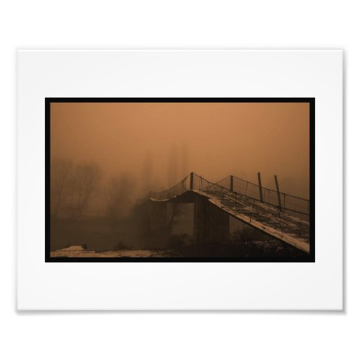 The road to nowhere photo print