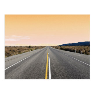 The Road to Nowhere Postcard