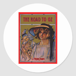 The Road To Oz Classic Round Sticker