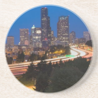 The road to Seattle Beverage Coasters