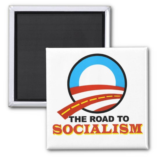 The Road To Socialism Magnet