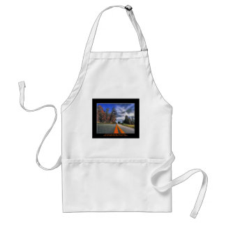 The Road to Success Adult Apron