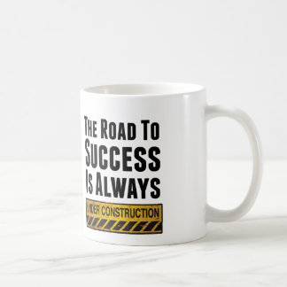 The road to success coffee mugs