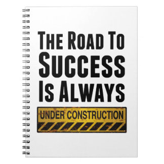 The road to success notebook