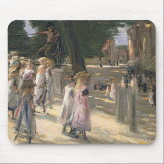 The Road to the school at Edam Mouse Pad