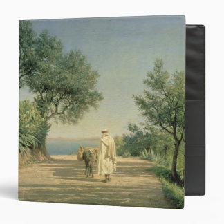The Road to the Sea, Algeria, 1883 3 Ring Binder