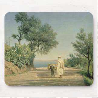 The Road to the Sea, Algeria, 1883 Mouse Pad