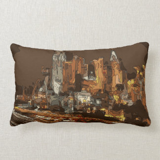 The Road to Vegas Pillow
