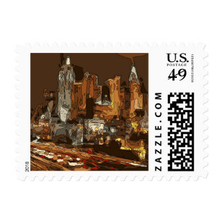 The Road to Vegas Stamp