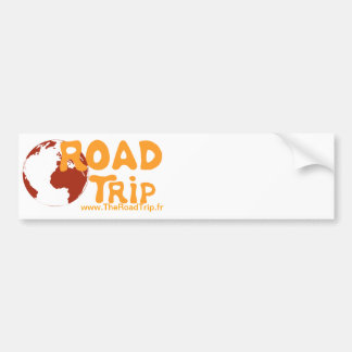 The Road Trip One your because Car Bumper Sticker