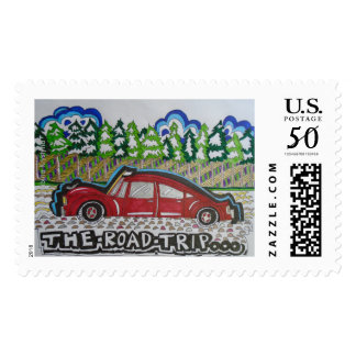 THE ROAD TRIP Postage