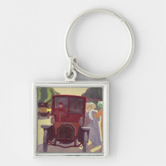 The Road with Acacias, 1908 Keychains