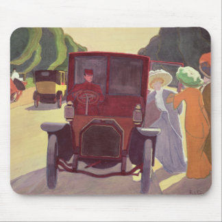 The Road with Acacias, 1908 Mouse Pad