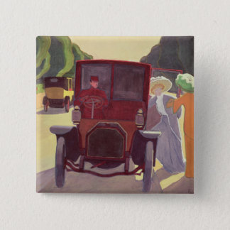 The Road with Acacias, 1908 Pinback Button