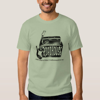 The Roadhouse Guitar Logo Green T-shirt