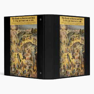 The Roads to Heaven and Hell 3 Ring Binder