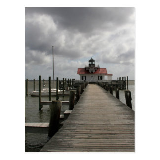The Roanoke Marshes Lighthouse Postcard