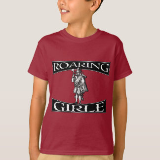 The Roaring Girle (Girl) Mary Firth Shirt- Border T-Shirt