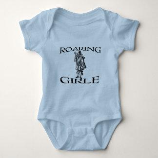 The Roaring Girle (Girl) Mary Firth Shirt- Light Baby Bodysuit