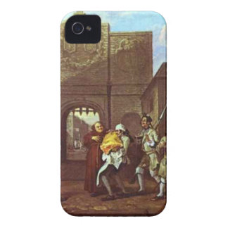 The Roast Beef of Old England by William Hogarth iPhone 4 Case-Mate Cases