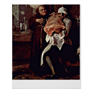 The roast beef of Old England by William Hogarth Print