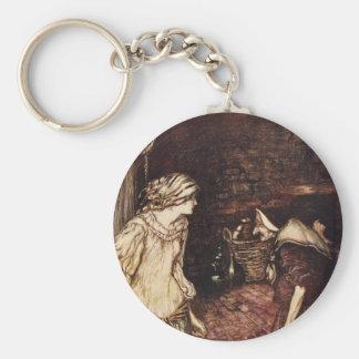 The Robber Bridegroom Basic Round Button Keychain