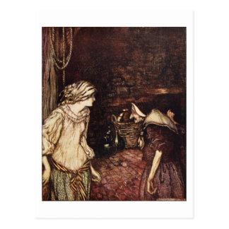 The Robber Bridegroom Postcard